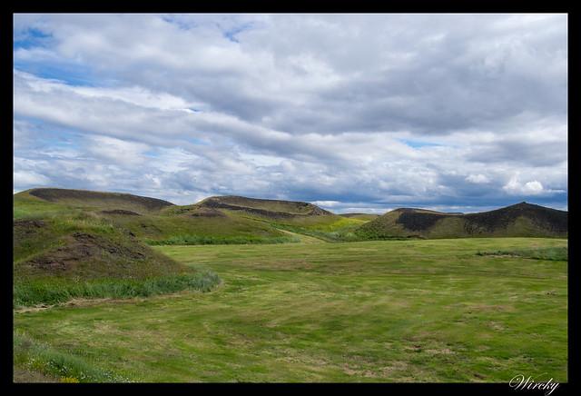 Cráteres de Skútustadir