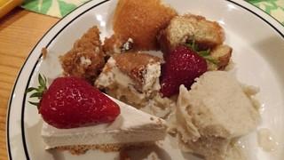 Daiya Cheesecake, Chicago Diner carrot cake and cinnamon bun, Hemp Ice Cream from Full Tilt
