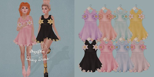 ♥ Daisy Dress - Coming soon to IDK! August 16th ♥