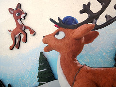 Rudolph and Coach Comet