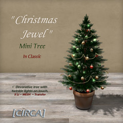 "[CIRCA] - ""Christmas Jewel"" - Mini Tree - Classic"
