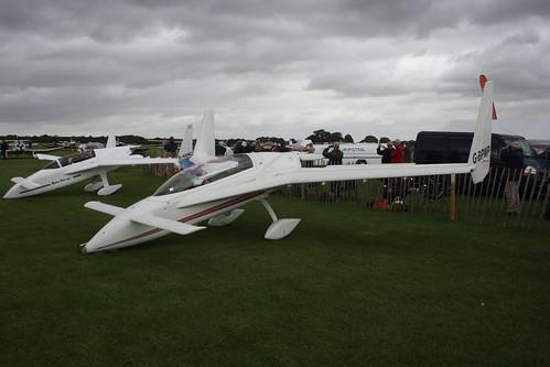 G-BPWP Rutan Long-Ez Sywell 290814