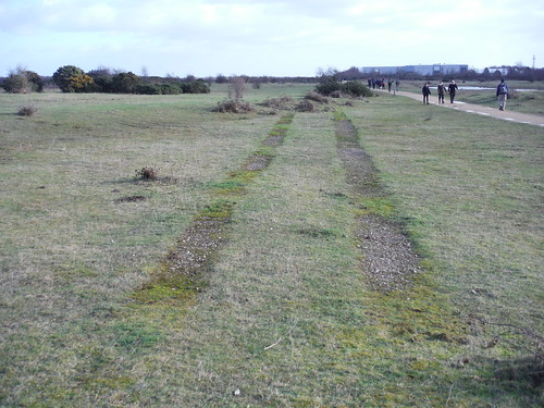 Greenham Common. Relics of the Cold War? Track Marks
