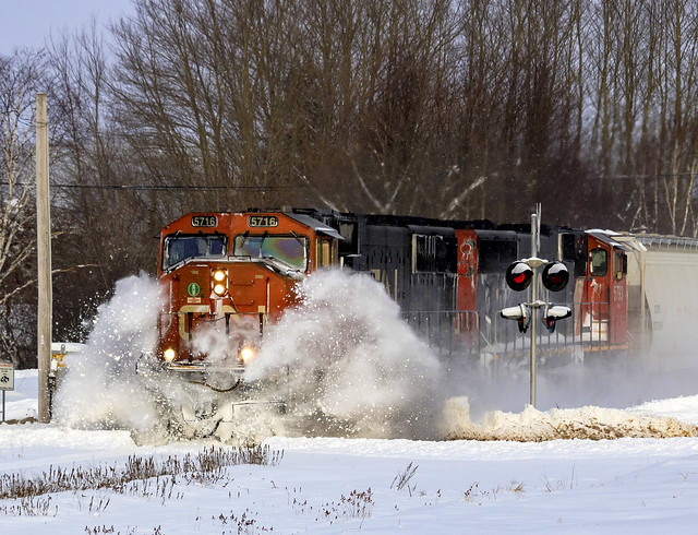 Snow Busting Action