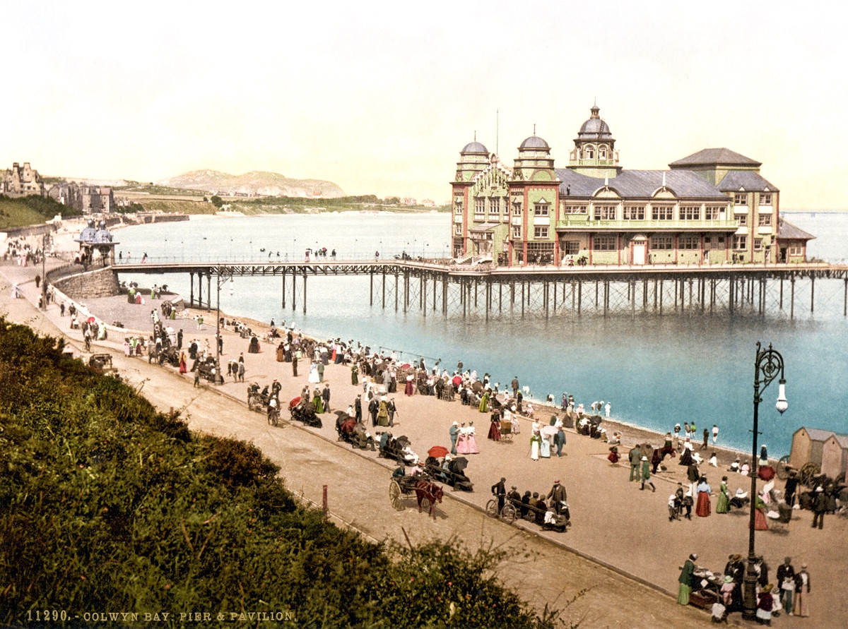 Colwyn Bay Pier and Pavillion, Wales
