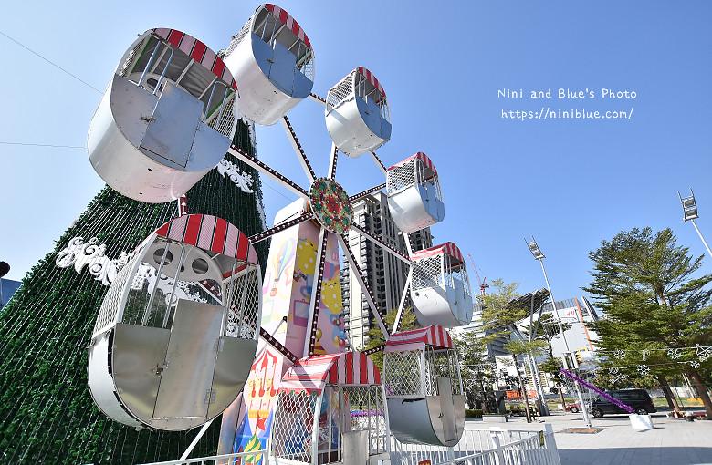 台中市府廣場耶誕夜遊樂園10