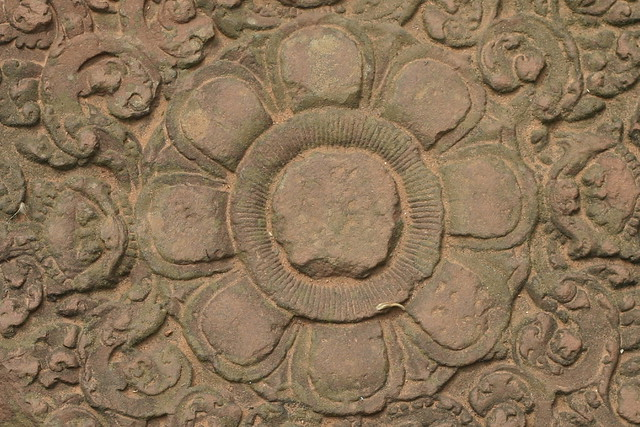 Carved lotus flower flickr photo sharing
