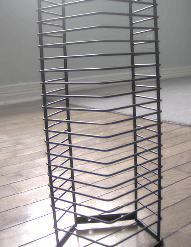 Cd rack tower 2 a middle to bottom viewpoint of the tower flickr photo sharing - Cd storage rack tower ...