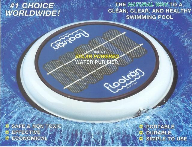 Floatron Solar Pool Ionizer Flickr Photo Sharing