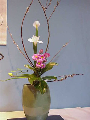 Japanese flower arrangement flickr photo sharing