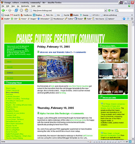 photo blog templates