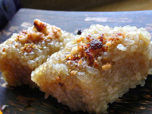 Sticky Rice Cake With Red Bean Paste Calories