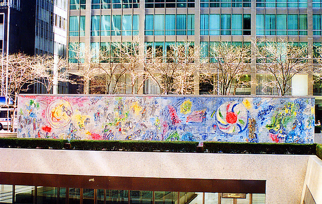 Chagall mural chicago flickr photo sharing for Mural in chicago illinois