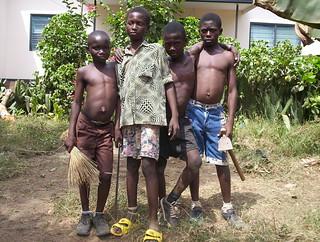 Some Ghanian kids