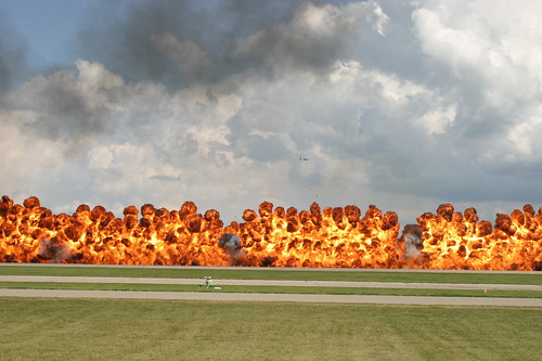 AirVenture Wall of Fire