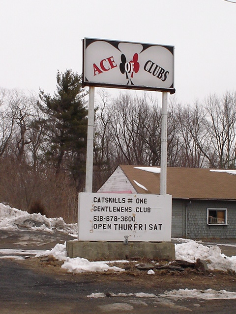 Catskills strip club