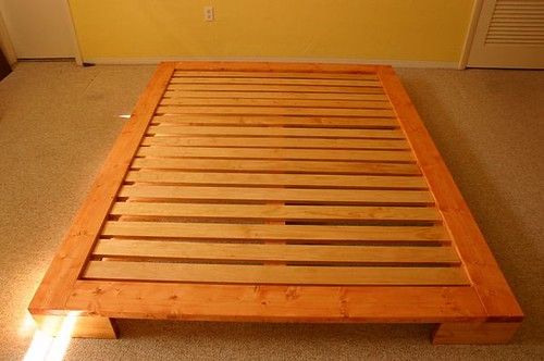 Japanese Platform Bed Plan