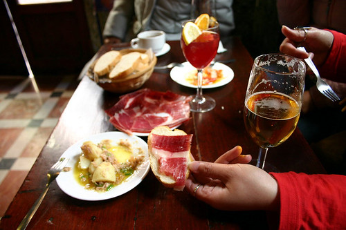 Gastronomie in Granada Kulturerlebnis Tapas
