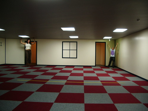 Puzzling World illusion room