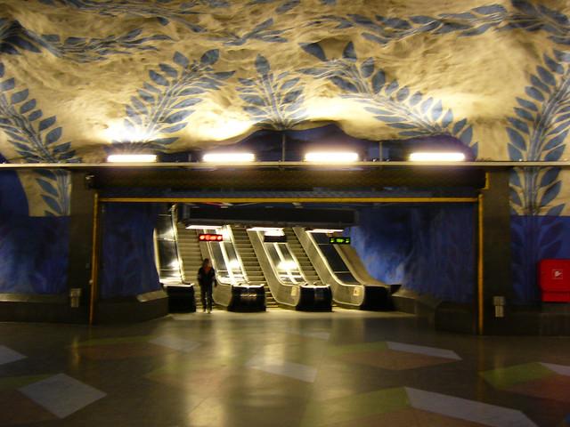 Subway Blue Line Station, Panasonic DMC-LC80