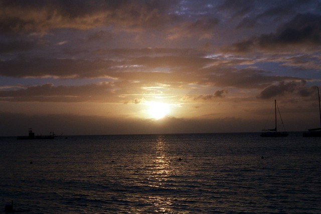 setting sun african caribbean - photo #17