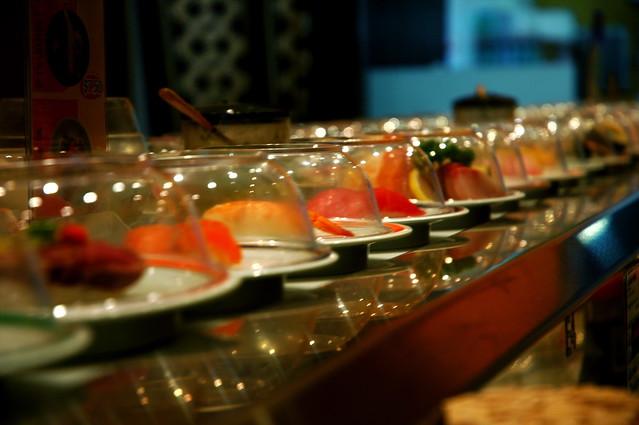 sushi train   well, te...