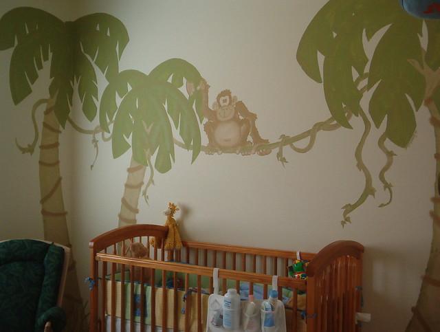 Rainforest Baby Bedding Set