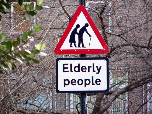 Geriatric road hazards