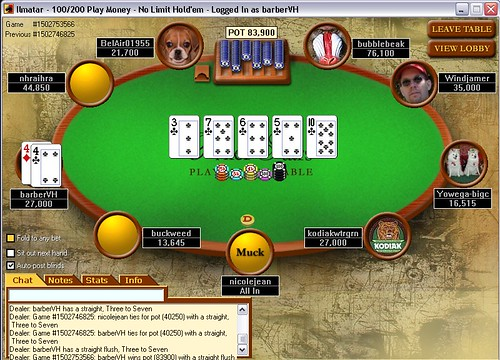 Avoid tell all poker screen names