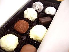 edible mushroom(0.0), meal(1.0), baking(1.0), chocolate truffle(1.0), petit four(1.0), bonbon(1.0), food(1.0), dish(1.0), chocolate(1.0), cuisine(1.0), praline(1.0),