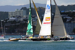 Close finish, Wellington, New Zealand 16 Feb 2006