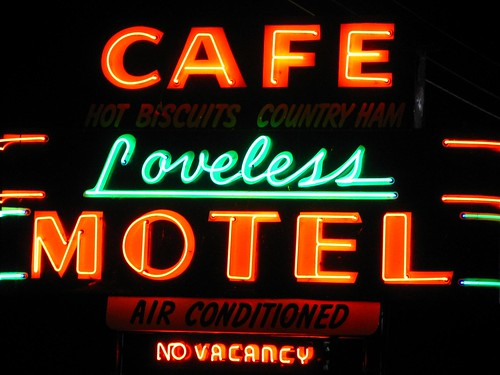 Loveless Cafe Neon Sign