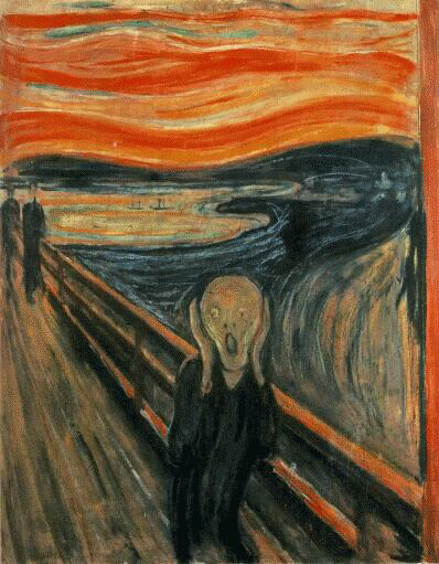 edvard munch - the scream  1893 from Flickr via Wylio
