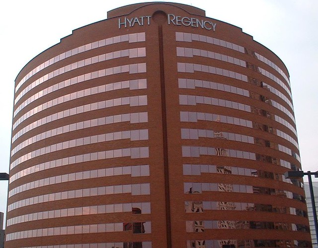 Hyatt Regency Cincinnati Room Service Menu