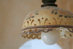 art, lamp, light fixture, lampshade, sconce,