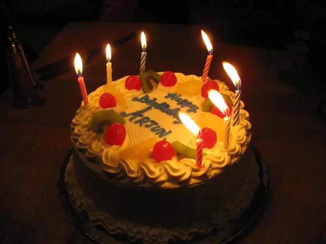 Canon Birthday Cake