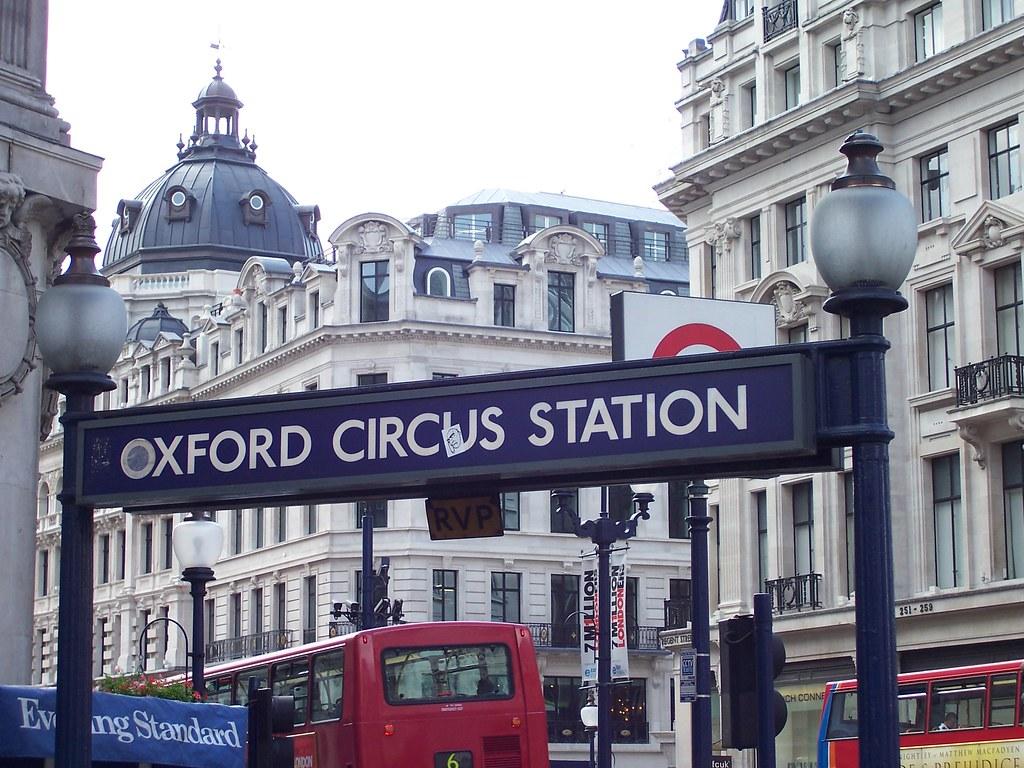 Oxford Circus Exterior Sign