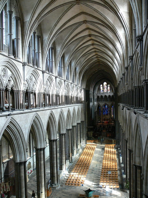 The nave, Salisbury Cathedral | Flickr - Photo Sharing!