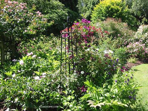 Garden design ideas photos botanical gardens fayetteville ar for New zealand garden designs ideas
