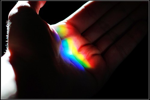 Rainbow in my hand