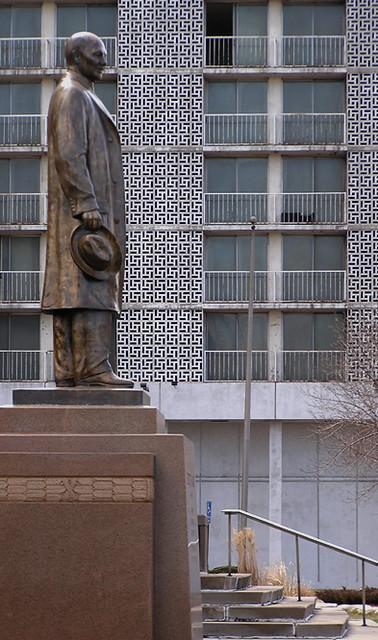 Elbert Gary Statue