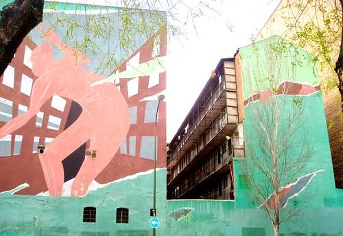 Street art al Lavapies