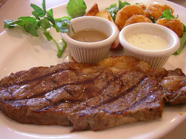 Beef steak & Shrimp combo