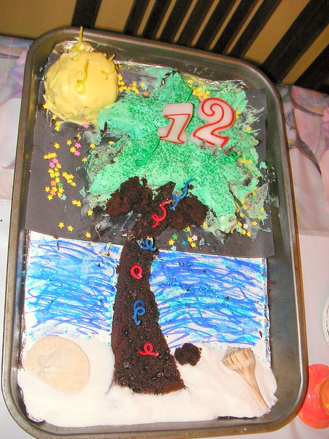 Desert Island Cake Recipe