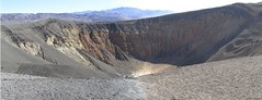 mountain, volcanic crater, geology, ridge, plateau, terrain, badlands,