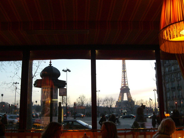 restaurant near eiffel tower flickr photo sharing