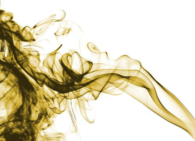 gold smoke.