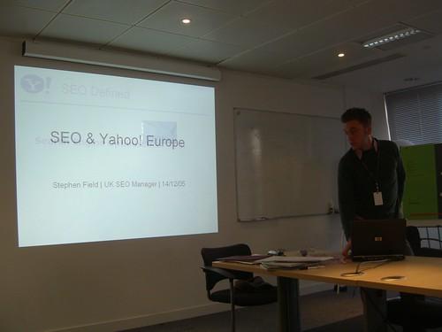 SEO & Yahoo! Europe