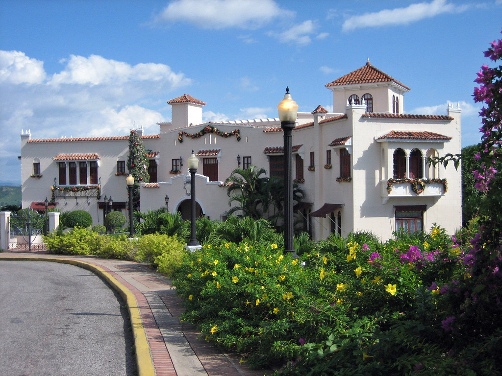 Serralles Castle, Christmas, Ponce, Puerto Rico