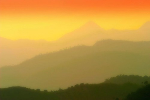 dongshan fujian china sunset mountains plantations color lights culture nature fengshui charliebrown8989